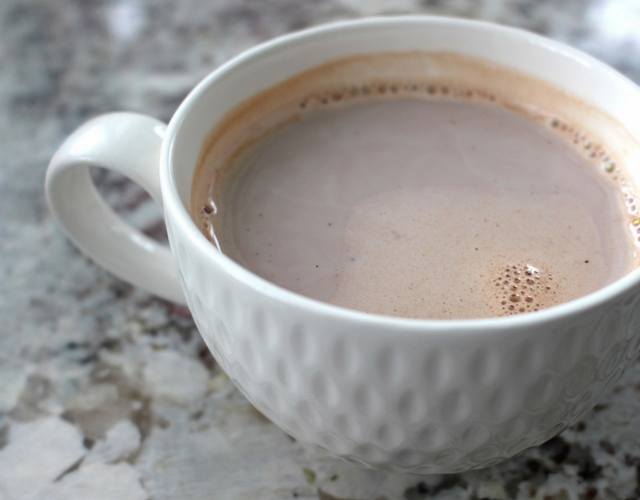 Simple Low Calorie & Low FODMAP Hot Chocolate