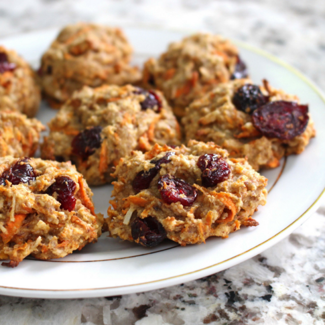 Healthy Carrot Cookies