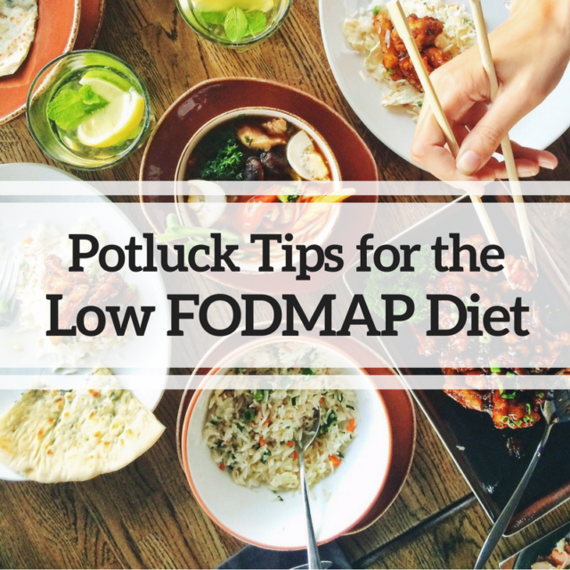 Tips for Sticking to the Low FODMAP Diet at Potlucks