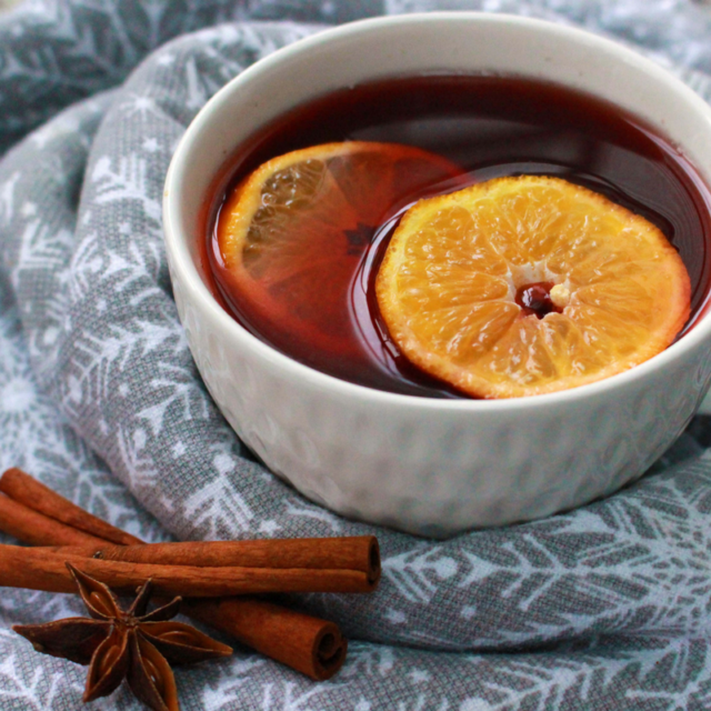 low fodmap mocked mulled wine